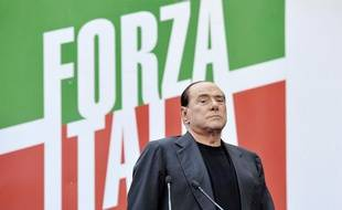 L'ancien Président du Conseil italien Silvio Berlusconi à Rome le 4 août 2013.