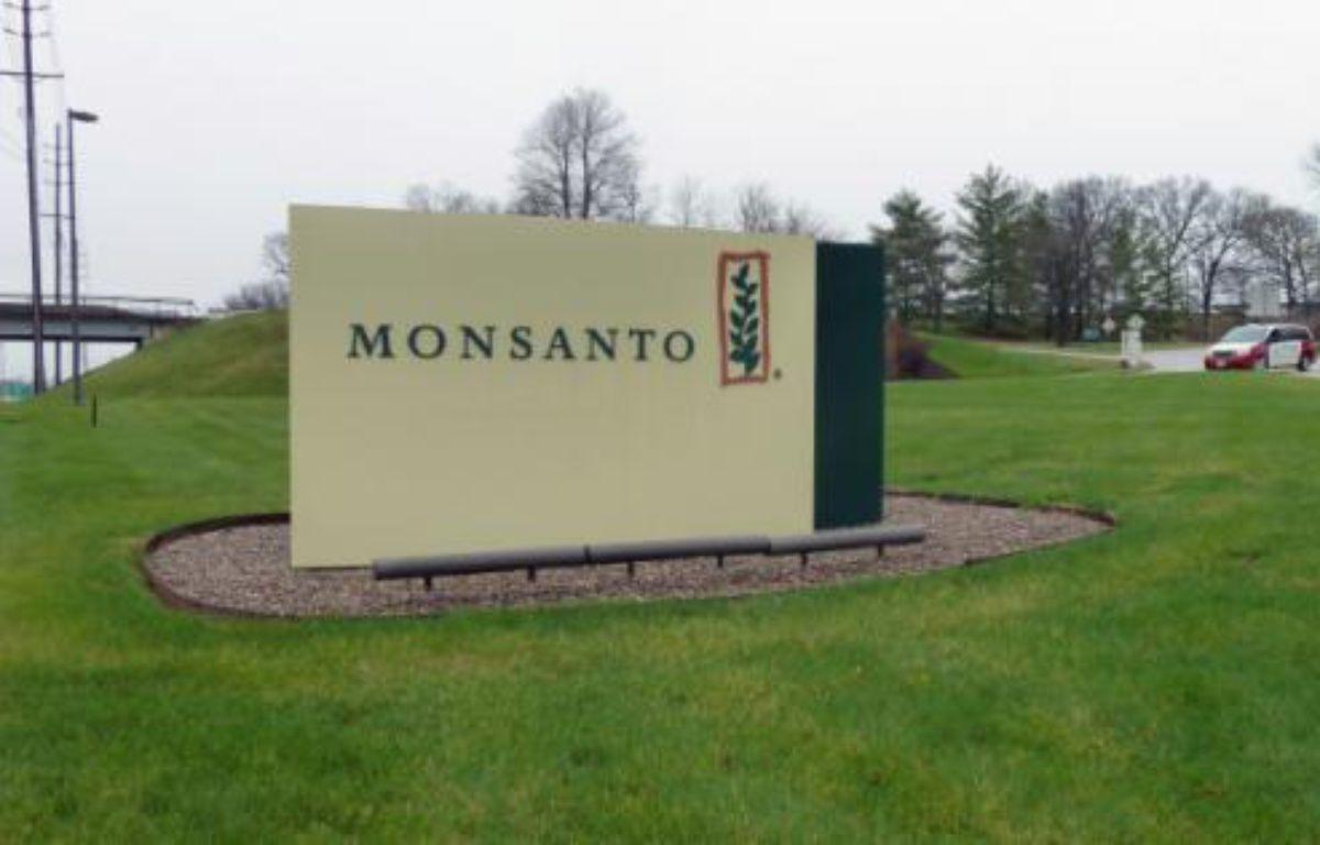 Entrée du siège de Monsanto, à Creve Coeur au Missouri en avril 2014 – Juliette MICHEL AFP