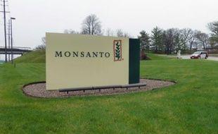 Entrée du siège de Monsanto, à Creve Coeur au Missouri en avril 2014