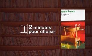 «La place» d'Annie Ernaux chez Folio (113 p., 5,50€).