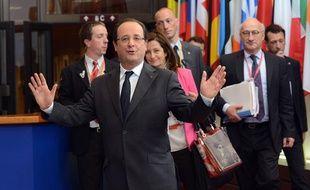François Hollande, le 28 juin 2013 à Bruxelles.