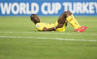 Adama Niane sous le maillot du Mali.