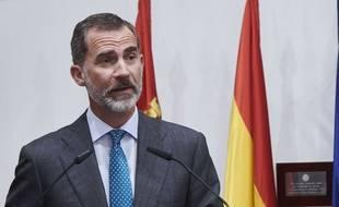 Le roi d'Espagne Felipe VI.