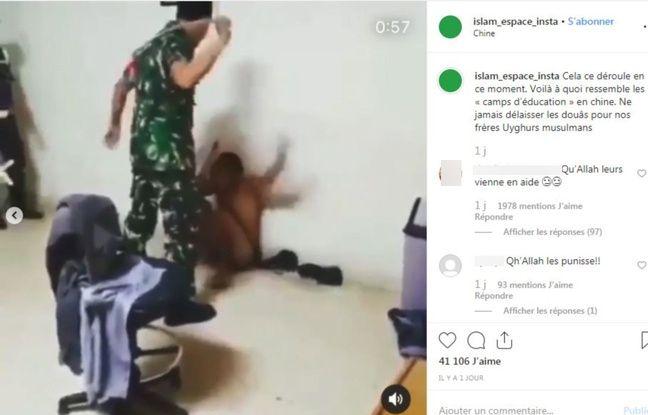 L'homme est battu à la tête à plusieurs reprises.