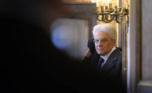 Sergio Mattarella, le nouveau président de la République italienne le 31 janvier 2015.