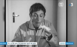 La toute première publicité diffusée à la télévision française, le 1er octobre 1968.