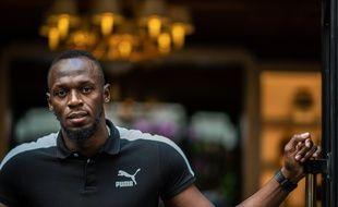 Usain Bolt à Marseille, en 2019.