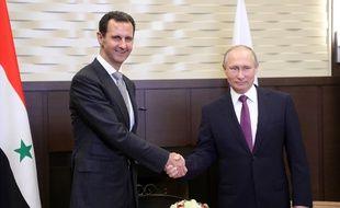 Les deux hommes s'étaient déjà rencontrés, ici à Sotchi en Russie en novembre 2017