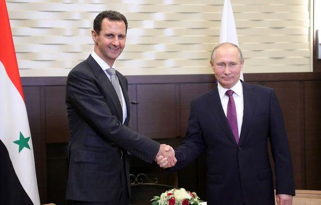 Syrie : Vladimir Poutine a rencontré Bashar al-Assad à Damas