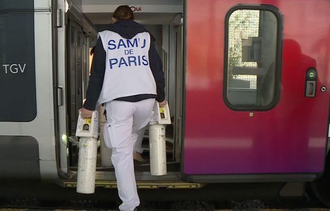 Coronavirus: Cinq questions sur le TGV médicalisé, une «prouesse technique et logistique» en route vers les Pays-de-la-Loire