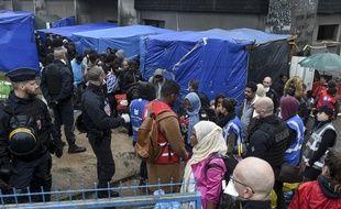 Une opération de police a eu lieu ce mardi au squat Jeanne-Bernard de Saint-Herblain