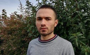 Jérémy Perrard, délégué régional Occitanie de l'association SOS Homophobie.