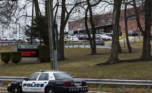 Une voiture de police au New Jersey - Etats-Unis