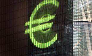 Le siège de la Banque centrale européenne à Francfort, le 12 mars 2016
