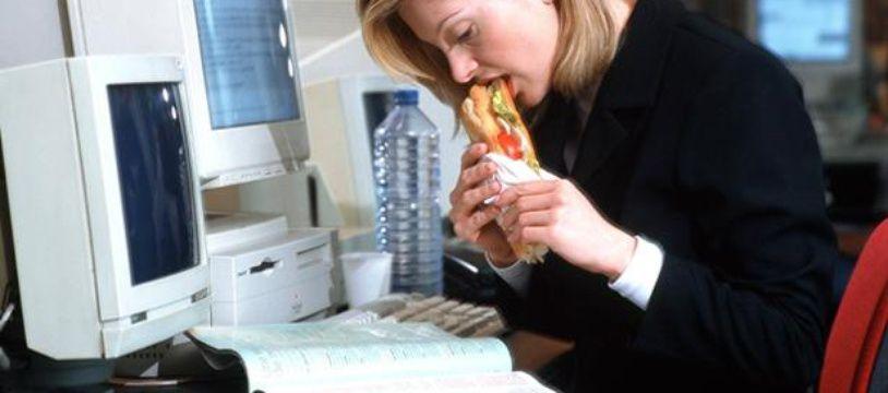 Il est important de prendre du temps pour manger.