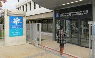 Marseille 26 NOVEMBRE 2014 La CAF Desautel présente le dispositif d'accueil des allocataires.