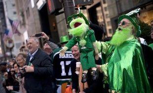 Deux millions de personnes se réunissent chaque année à New York pour célébrer la Saint-Patrick