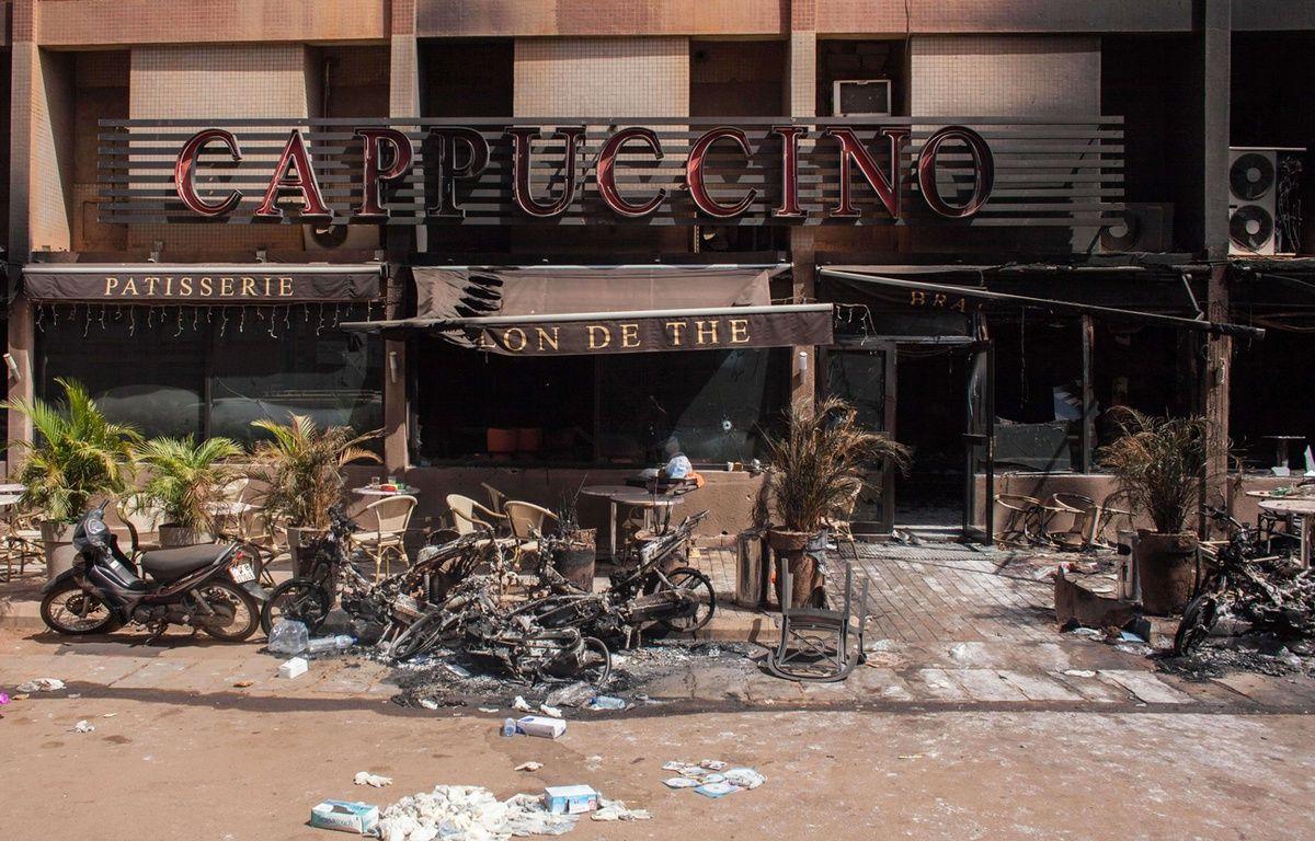 Lieu de l'attaque terroriste d'AQMI survenue à Ouagadougou le 16 janvier 2016. – Theo Renaut/AP/SIPA