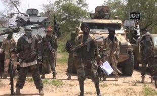 Capture d'écran du 13 juillet 2014 d'une vidéo obtenue par l'AFP montrant des membres du groupe islamiste nigerian Boko Haram