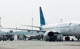 Un avion de la compagnie indonésienne Garuda (image d'illustration).