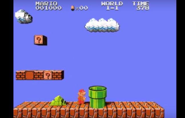 «Super Mario Bros» en 3D grâce à un émulateur.