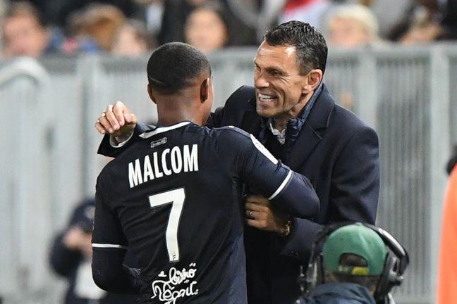 Malcom a marqué le dernier but des Girondins face à Toulouse.
