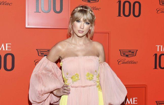 La chanteuse Taylor Swift à New York.