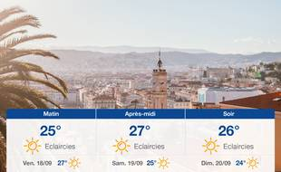 Météo Nice: Prévisions du jeudi 17 septembre 2020