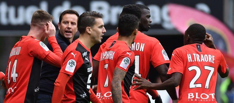 Le Stade Rennais est l'équipe qui a gagné le plus de points après avoir été menée au score depuis le début de la saison dernière.