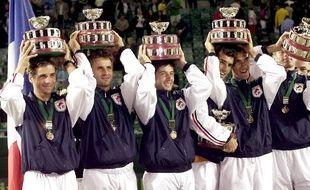 Les vainqueurs de la coupe Davis 2001