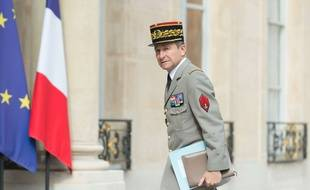 Le Général Pierre de Villiers à l'Elysée, le 13 juillet 2017.