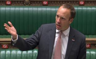 Le ministre de la Santé britannique, Matt Hancock.