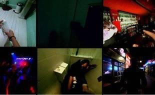 Un collage du clip de Smack my bitch up, de Prodigy