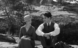 Paula Beer et Pierre Niney dans Frantz de François Ozon