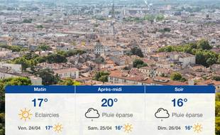 Météo Nîmes: Prévisions du jeudi 23 avril 2020