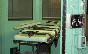 Une chambre d'exécution par injection léthale aux Etats-Unis.