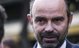 Edouard Philippe, lors de la cérémonie de 2018 en hommage aux victimes des attentats du 13 novembre 2015 de Paris.