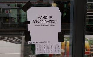 Ces affiches fleurissent un peu partout dans l'hypercentre marseillais.