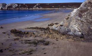 Une plage de la presqu'île de Crozon, dans le Finistère.