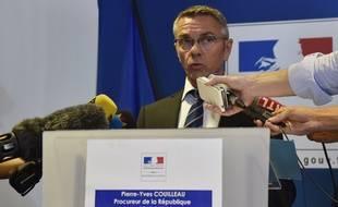 Le procureur de la République de Toulouse Pierre-Yves Couilleau, le 30 août 2016.