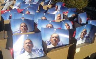 Des posters d'Obama, dans le Nevada
