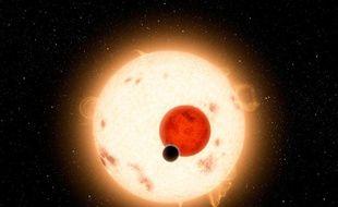Kepler-16b la planète aux deux soleils