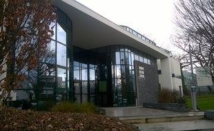Le bâtiment du laboratoire Biotrial à Rennes (Ille et Vilaine)