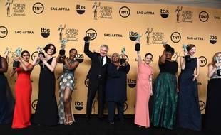 """Le casting d' """"Orange is The New Black"""" Screen Actors Guild Awards le 25 janvier 2015"""