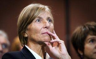 """Marielle de Sarnez, bras droit de François Bayrou, candidat MoDem à l'Elysée, s'est demandé lundi si le calendrier du sommet social du 18 janvier était programmé à un moment """"approprié""""."""