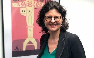 Valérie Oppelt, 46 ans, est députée et candidate LREM à la mairie de Nantes.
