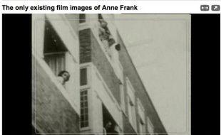 Des vidéos d'Anne Frank visibles sur Internet