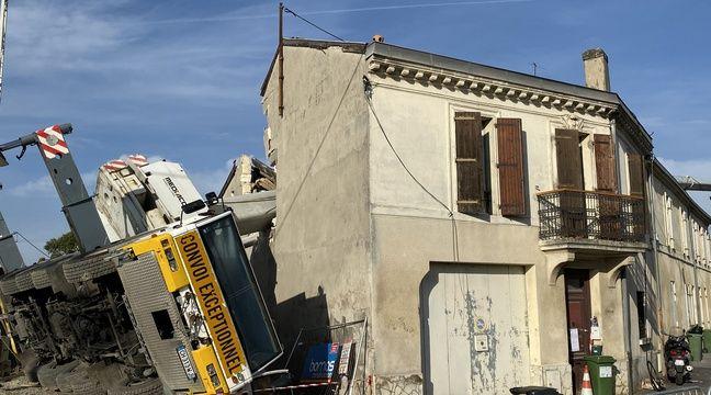 Grue effondrée sur des maisons à Bordeaux : Un collectif alerte sur la « détresse des victimes » - 20minutes.fr
