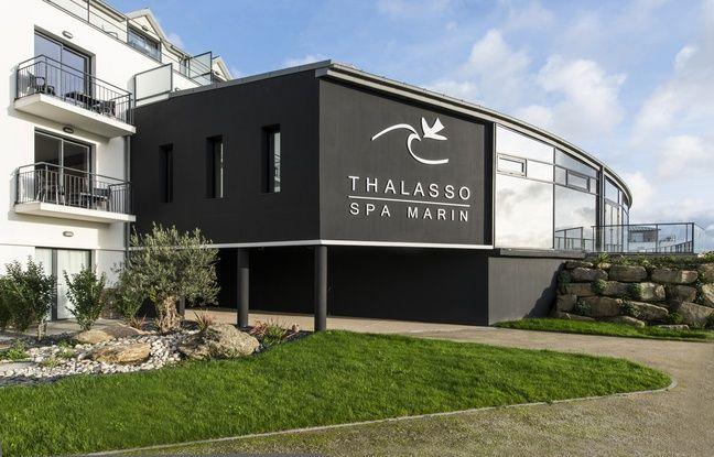 La Thalasso de Concarneau est située à quelques mètres de la plage.