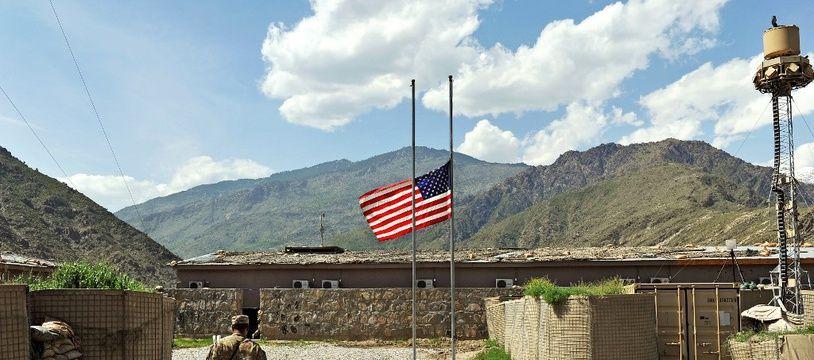 La base militaire américaine à Watahpur en Afghanistan (Illustration).